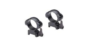 Ringmounts Quick Release Steel Mounts 30mm Diameter 5/8″ Weaver Dovetail Low – Nikko Stirling Steel Lock.