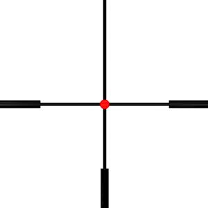 Riflescope Nikko Stirling Diamond 2,5-10x50