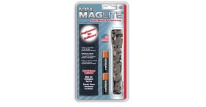 Flashlight Mag-Lite Mini AA Belt Pocket Camo